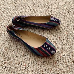 Mossimo Multicolored Flats